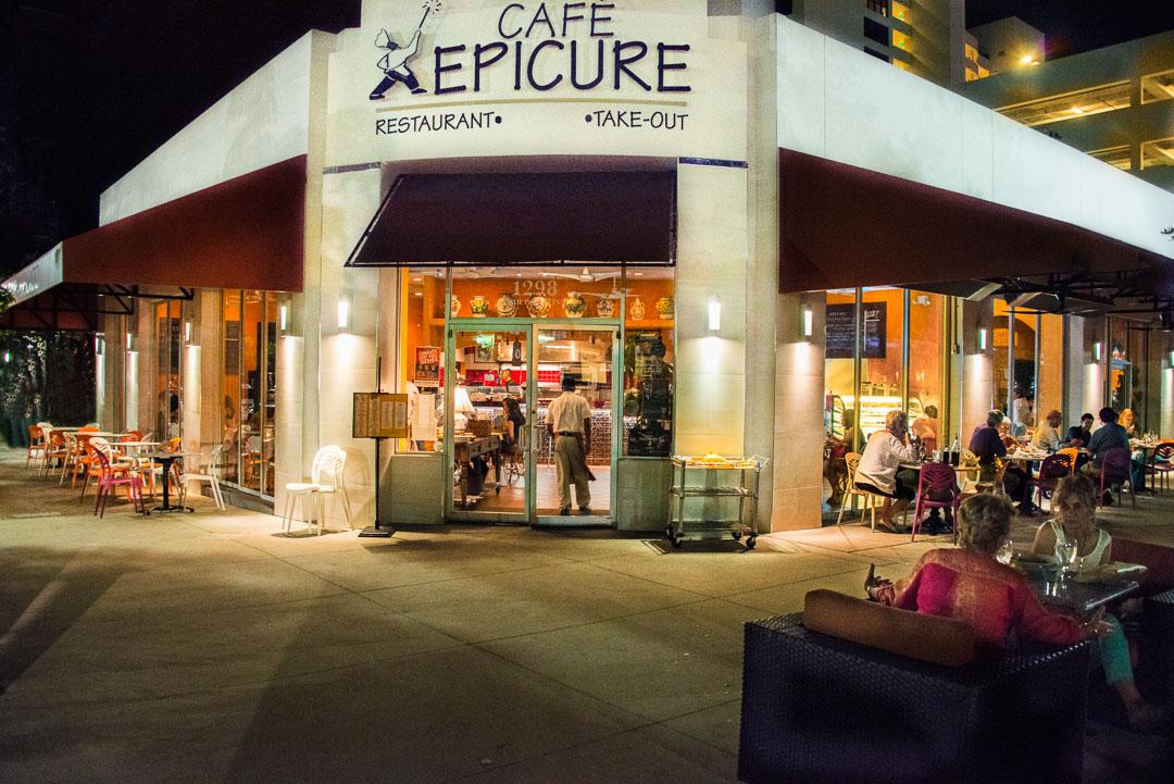Cafe Epicure Menu